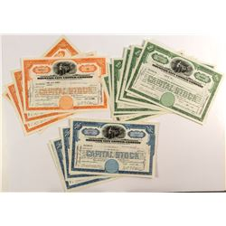 Mountain City Copper Company Stock Certificates (19)
