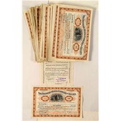 99 Tonopah Mining Company Stock Certificates