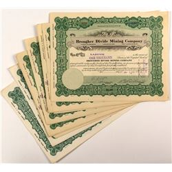 Brougher Divide Mining Company Stock Certificates (11)