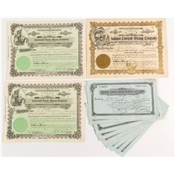 Goldsmith, Indiana-Tonopah, & Cash Boy Mining Stock Certificates (16)