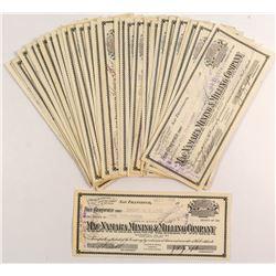 MacNamara Mining & Milling Stock Certificates (50+)