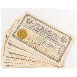 Silver Hills Nevada Mines Stock Certificates (20)