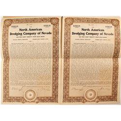 North American Dredging Company of Nevada Gold Bonds