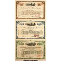 The Baltimore and Ohio Railroad Company Stock Certificates (17)
