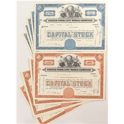 Park City Mines Stock Certificates (15)