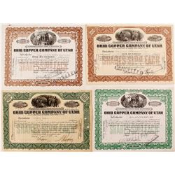 Ohio Copper Company of Utah Stock Variety