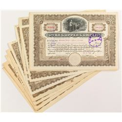 Utah Copper Company Certificates