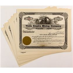 Tintic Empire Mining Company Stock Certificates (21)