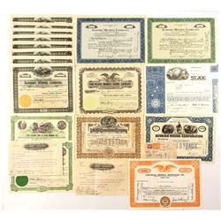 American Mining Stock Certificates Collection
