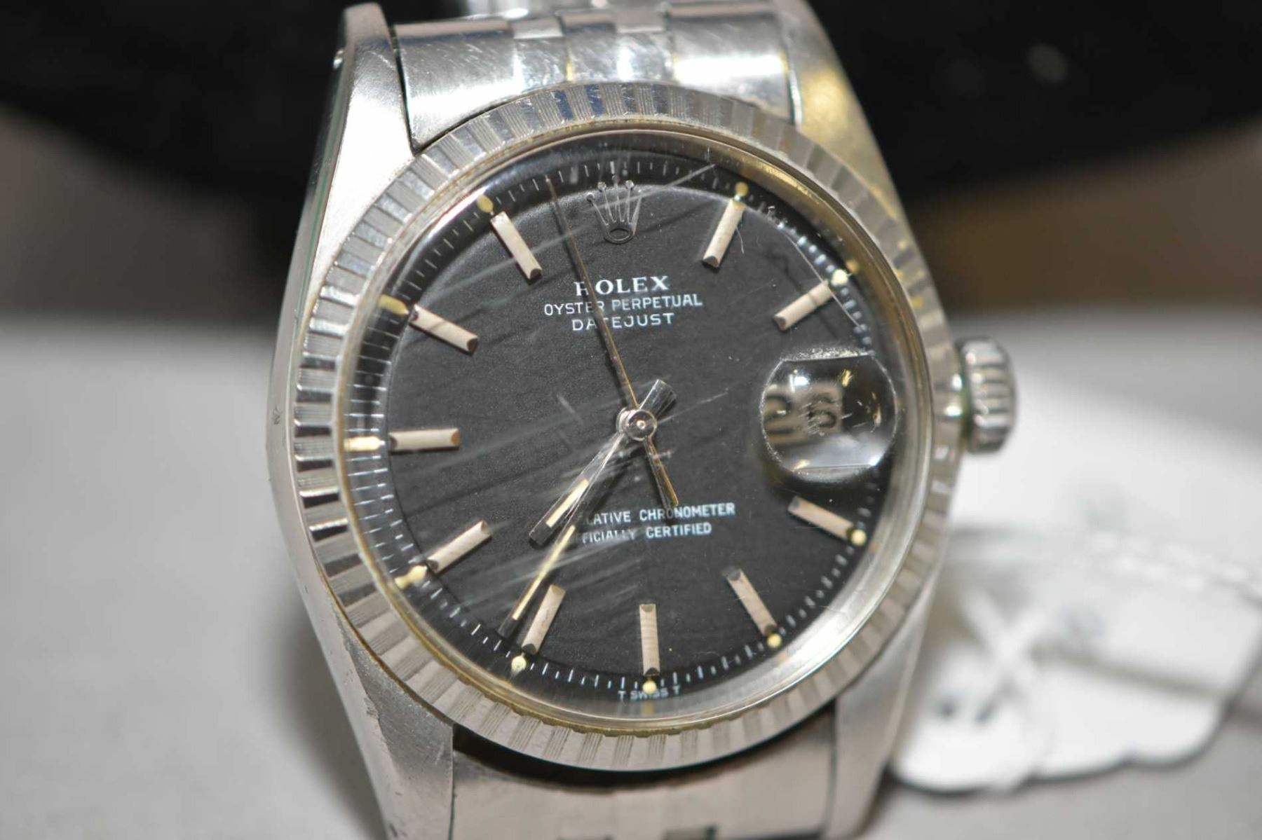 Gent S Vintage Rolex Datejust 1603 Self Winding Watch With Stainless