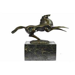 Modern Art Horse Stallion Bronze Sculpture