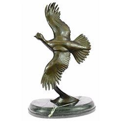 Juno Female California Quail Bronze Sculpture