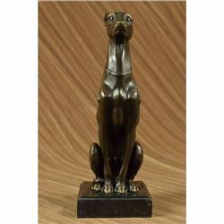 Greyhound Hound Dog Bronze Sculpture