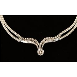 Stunning Ladies Diamond Necklace