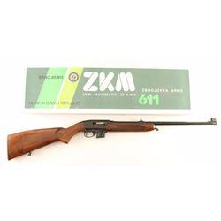BRNO Arms ZKM-611 .22 Mag SN: 551509445