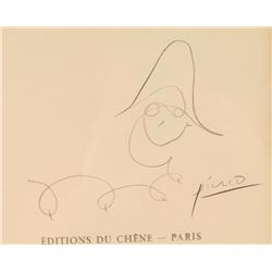 Early Pablo Picasso Folio Book Cover