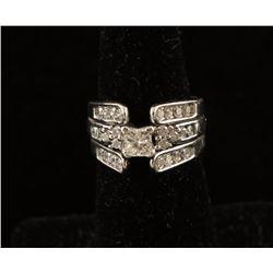 Ladies Diamond Engagement Ring Set