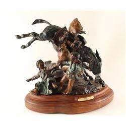 Limited Edition Fine Art Colored Bronze