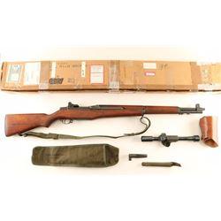*Springfield M1D Garand .30-06 SN: 3527779