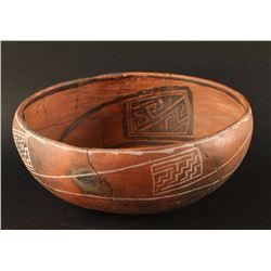Anazasi Pre-Historic Zuni Glazeware Bowl