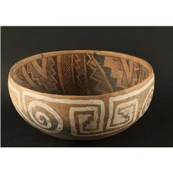 St. Johns Polychrome Geometric Bowl