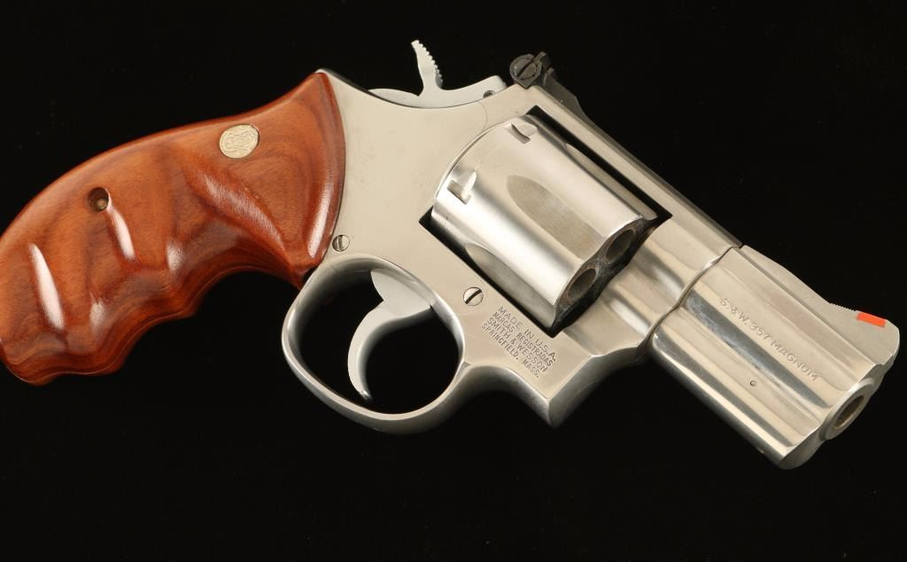 Smith & Wesson 686-3  357 Mag SN: BPD5418