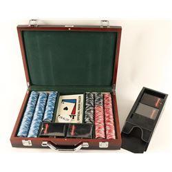 Cased Poker Set