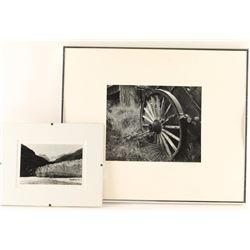 2 Black & White Photographs