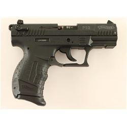 Walther P22 .22 LR SN: L011686