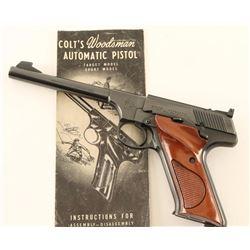Colt Woodsman Target .22 LR SN: 057297S