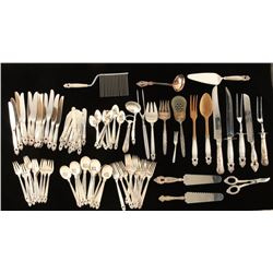 Large Lot of Sterling Flatware