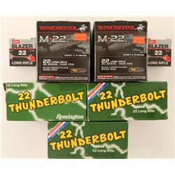 Lot of 22LR Ammo