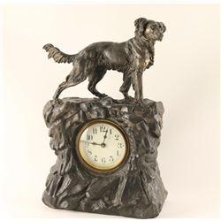 Vintage Irish Setter Clock