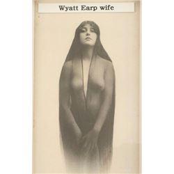 Print of a Photo of Wyatt Earp's Wife