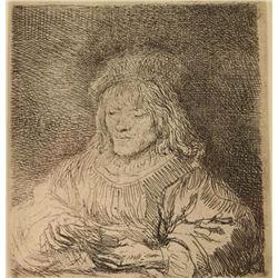 Fine art etching