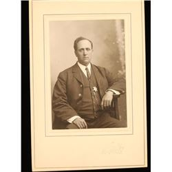 Cabinet Card of Assistant Police Chief
