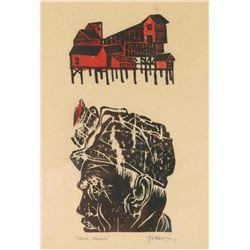 Original Wood Block Print