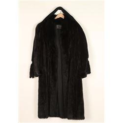 Beautiful Ladies Mink Trench Coat