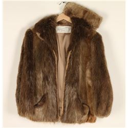 Uptone long haired Beaver Jacket