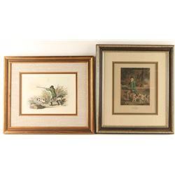 Lot of 2 Etchings