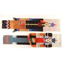 (2) African Wool Rugs