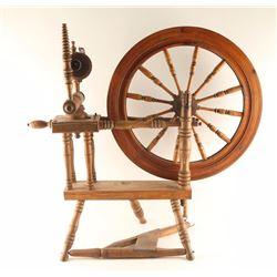 American Antique Spinning Wheel