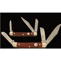Lot of 2 Boker Solingen Tree Pocket Knives