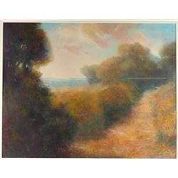Original Oil on Paper