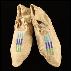 Vintage Pair of Native American Indian Moccasins