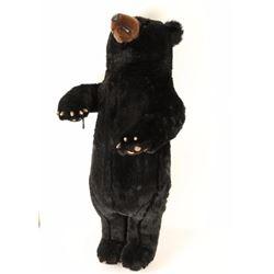 Large Stuffed Black Bear Toy