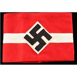 German WWII Hitler Youth Arm Band