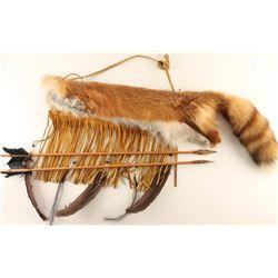Tule River Fox Quiver with Arrows