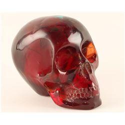 Amber Resin Skull