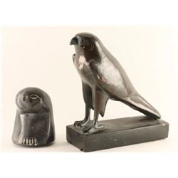 Early Replicas of Egyptian Falcons